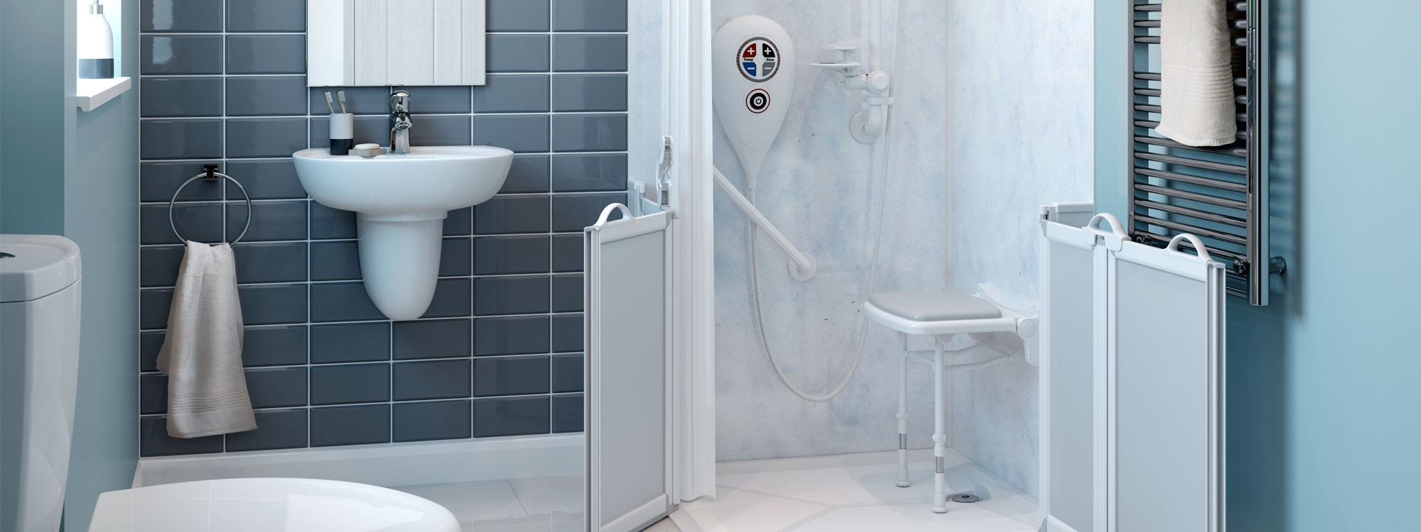 Bespoke Assisted Disabled Showers Design Fit More Ability