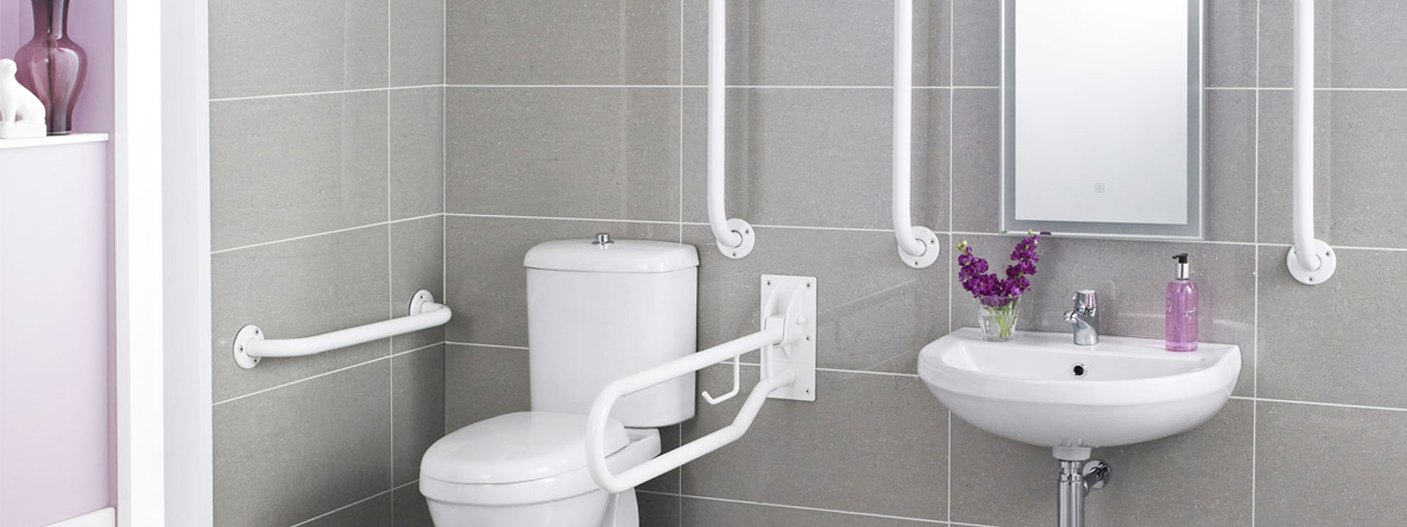 Bathroom Support - Hand & Grab Rails