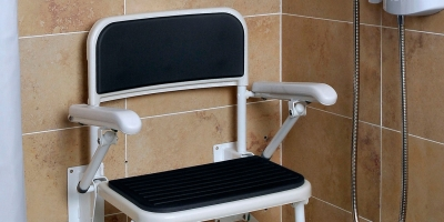 Safe & Practical Fold Away Shower Seat