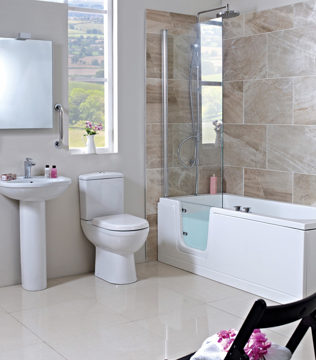 Stylish easy access baths designed installed by more for Bathroom design leeds