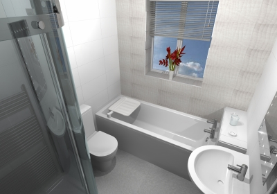 Stylish easy access baths, designed & installed by More Ability